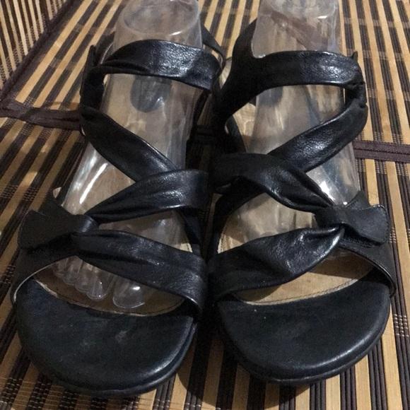 a1af62eb109 Clarks Shoes - Clarks Artisan Black Strappy Sandals New